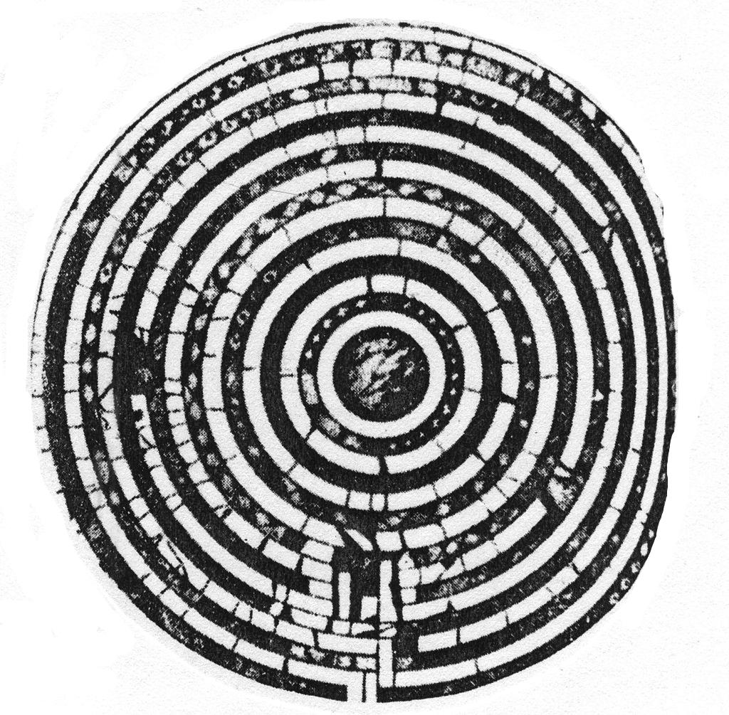 SantaMariaInTrastevere-Labyrinth